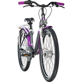 s'cool chiX 24 7-S alloy Darkgrey/Violett Matt